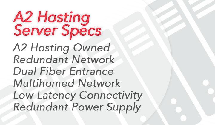 A2 Hosting Server Specs