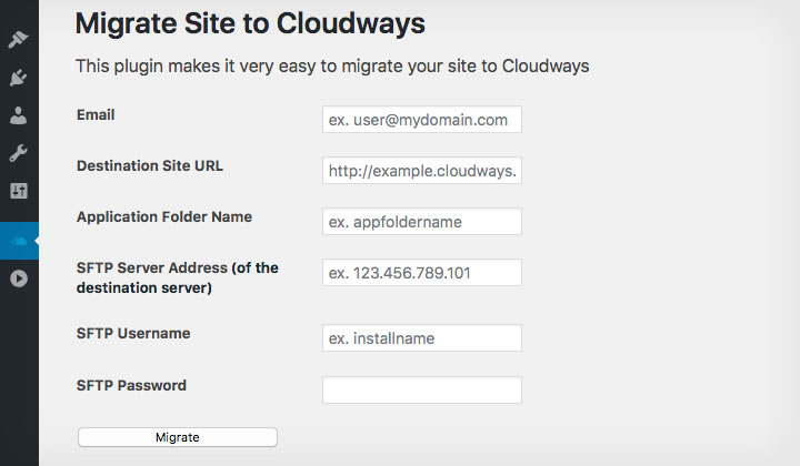 Cloudways WordPress Migration