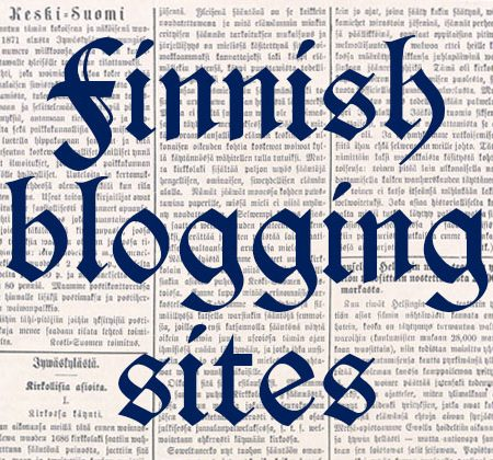 Finnish Blogging Sites