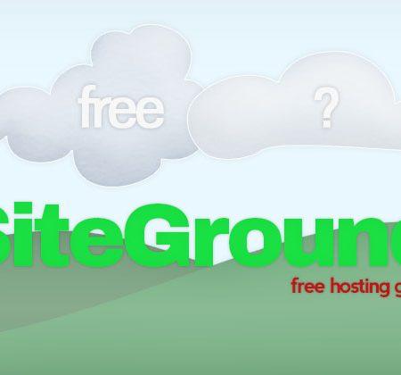 Free SiteGround Hosting
