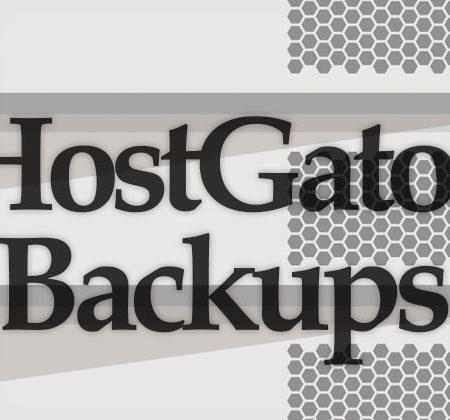 HostGator Backups