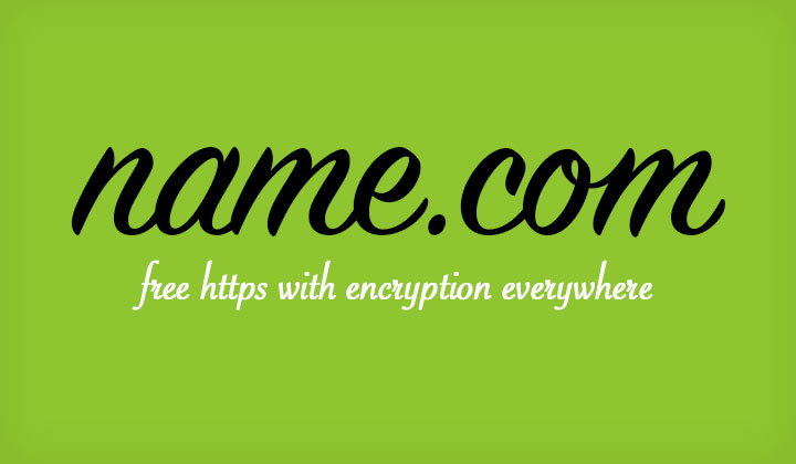 Name.com Free SSL HTTPS