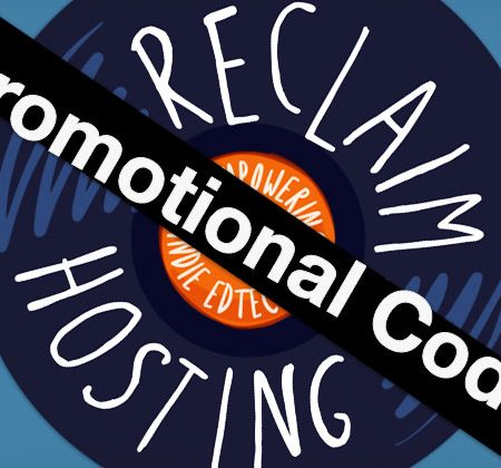 Reclaim Hosting Promotional Code
