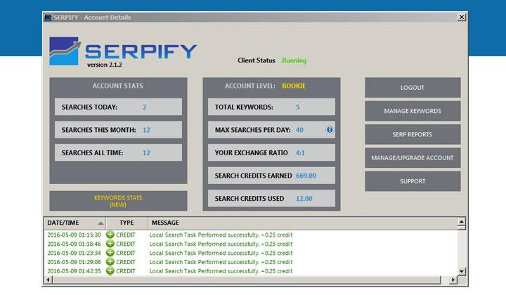 Serpify Client