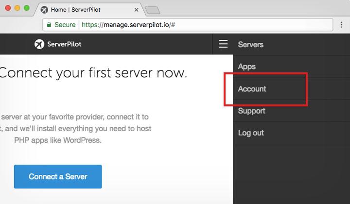 ServerPilot Account