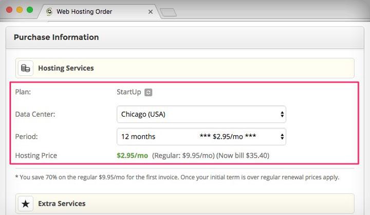 SiteGround 12 Months 2.95/month Discount
