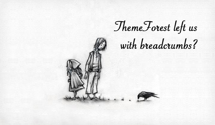 ThemeForest Breadcrumbs