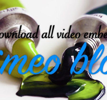 Vimeo Blob