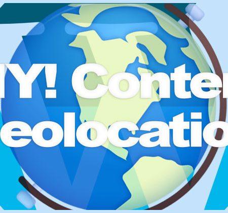 WordPress Content Geolocation