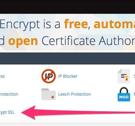 cPanel Let's Encrypt
