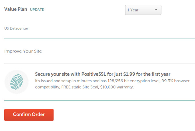 Secure your site with PositiveSSL