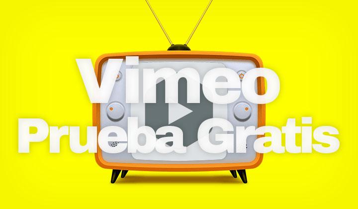 Vimeo Prueba Gratis
