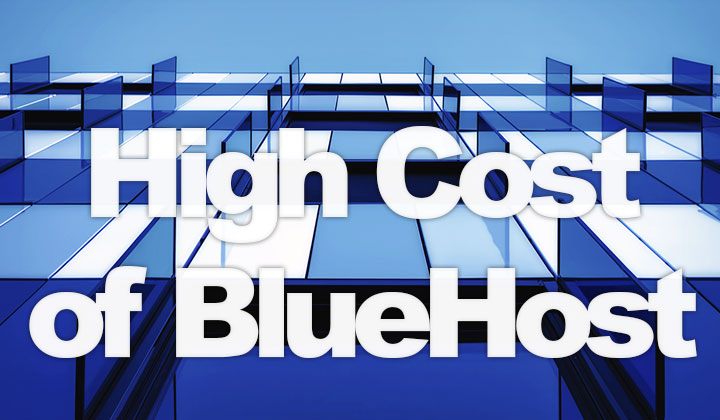 Bluehost Expenses