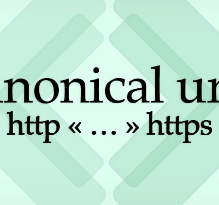 Canonical URLs HTTP HTTPS