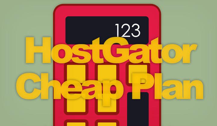 Cheapest HostGator Plan