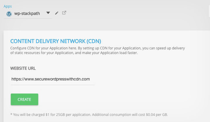 Cloud Hosting with CDN Deployment
