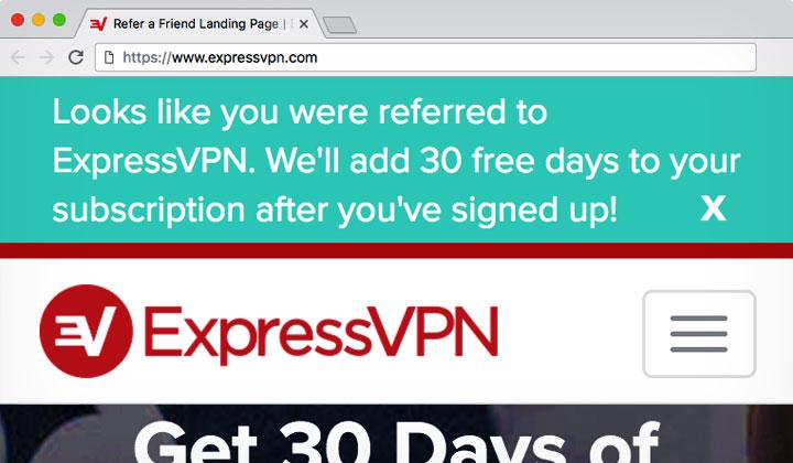 ExpressVPN «Refer Friend» Referral Link: 30 Days Free! Trial is Fake