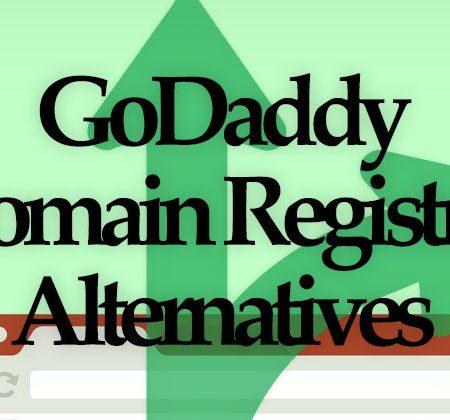 GoDaddy Domain Registrar Alternatives