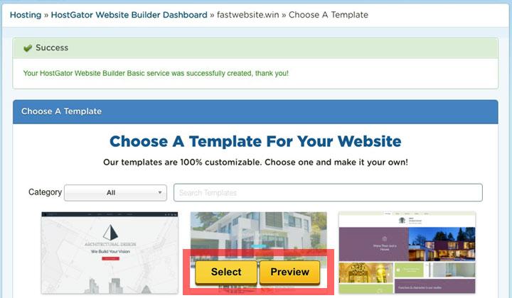 HostGator Website Builder Quick Tutorial Important Pricing Information - Hostgator website templates