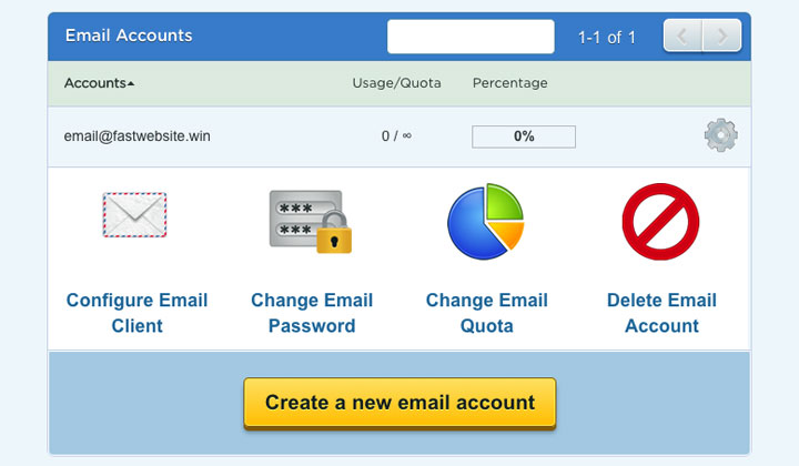 HostGator Email Settings
