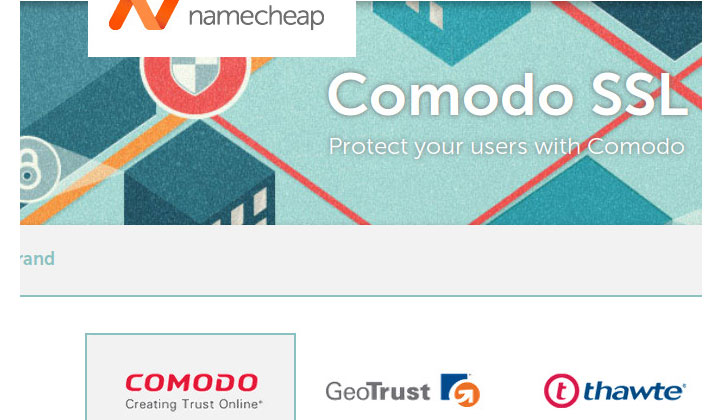 NameCheap Comodo SSL Hosting