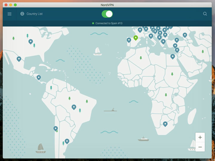 NordVPN Connection Client