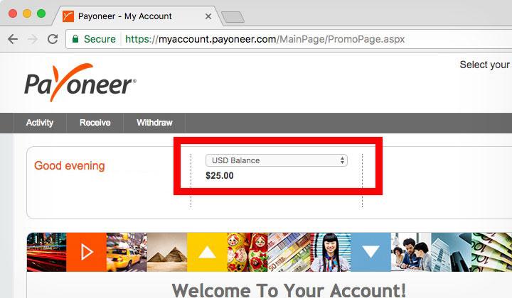 Payoneer my account 100 система форекс bandsbaracuda бесплатно wwwboard cgi