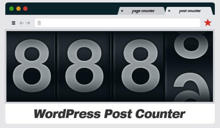 WordPress Post Count