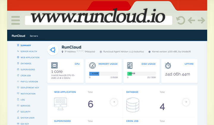 RunCloud Server Management