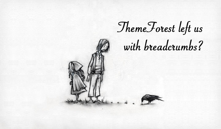 ThemeForest Breadcrumbs