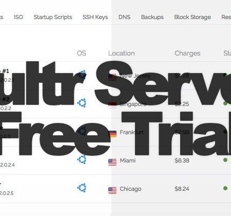 Vultr Free Trial