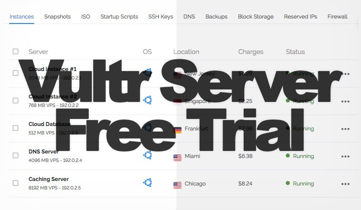 Vultr Free Trial
