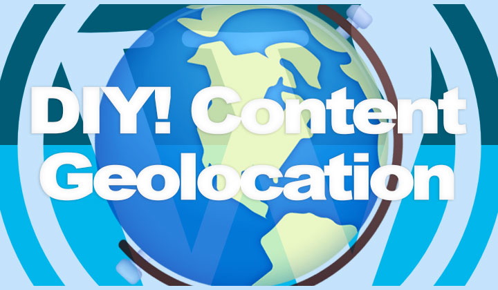 WordPress Content Geolocation